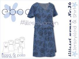 Foto zu Schnittmuster Lillesol women No.36 Jerseykleid & -shirt von Lillesol & Pelle