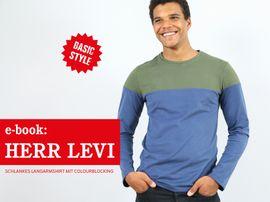 Produktfoto zu Kombi Ebook HERR LEVI & LEVI Shirts im Partnerlook von Anja // STUDIO SCHNITTREIF
