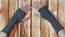 Foto zu Schnittmuster Wendbare Handstulpen mit Daumenloch von gialLino