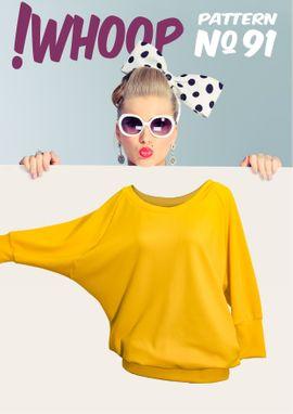 Foto zu Schnittmuster # 91 Oversized Shirt von !Whoop patterns