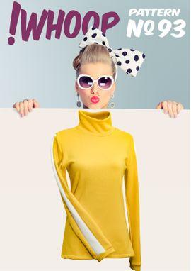 Foto zu Schnittmuster # 93 Pullover mit Rollkragen von !Whoop patterns