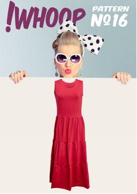 Foto zu Schnittmuster #16 Kleid mit Stufenrock von !Whoop patterns