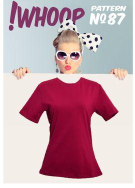Foto zu Schnittmuster #87 T-Shirt von !Whoop patterns
