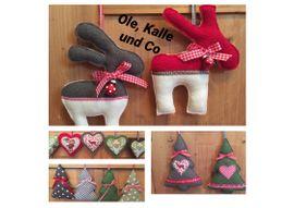 Foto zu Schnittmuster Anhänger-Set Ole, Kalle & Co. von Frau Schnitte