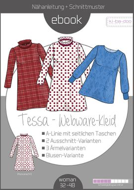 Foto zu Schnittmuster Webware-Kleid Tessa von ki-ba-doo