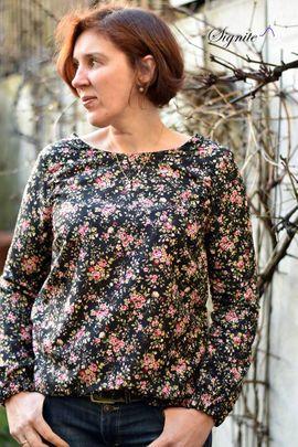 Foto zu Schnittmuster Kleid/Bluse Damen - Meine Ava von Meine Herzenswelt
