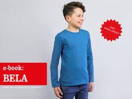 Produktfoto zu Kombi Ebook HERR BELA & BELA  Shirts im Partnerlook von Anja // STUDIO SCHNITTREIF