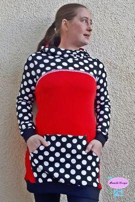 Foto zu Schnittmuster Just Lady Hoodie von Mamilu Design