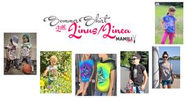 Foto zu Schnittmuster Sommershirt Little Linus/Linea von Mamili1910