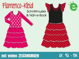 Foto zu Schnittmuster Flamenco-Kleid von Erbsenprinzessin