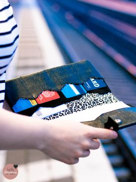 Foto zu Schnittmuster Traveller Briefcase Camino von LaLilly Herzileien