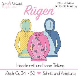 Foto zu Schnittmuster Hoodie Rügen von Pech & Schwefel