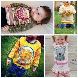 Foto zu Schnittmuster Babyshirt miniLoo von Engelinchen