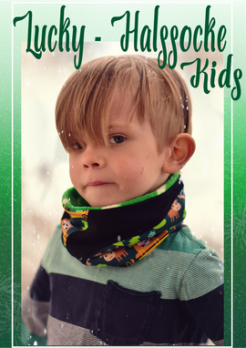 Foto zu Schnittmuster Lucky Halssocke Kids von Rosalieb & Wildblau