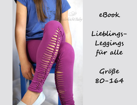 Foto zu Schnittmuster LiLefa - Lieblings-Leggings für alle von Bunte Nähigkeiten
