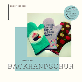 Foto zu Schnittmuster Backhandschuhe von Frau Elster Designstudio