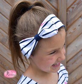 Foto zu Schnittmuster Schleifen-Knoten-Haarband von Mamilu Design