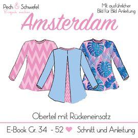 Foto zu Schnittmuster Bluse/Shirt Amsterdam von Pech & Schwefel