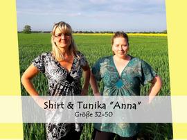 Foto zu Schnittmuster Shirt & Tunika Anna von Bunte Nähigkeiten