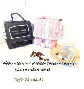 Foto zu Schnittmuster Kaffee-Tassen-Tasche von Afrosteff