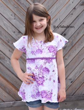 Foto zu Schnittmuster Cool Summer Girl von Mamilu Design
