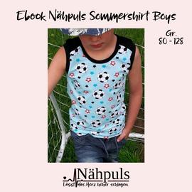 Foto zu Schnittmuster Nähpuls Sommershirt Boys von Nähpuls