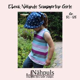 Foto zu Schnittmuster Nähpuls Sommertop Girls von Nähpuls