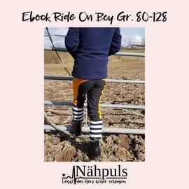 Foto zu Schnittmuster Reithose und Spielhose Ride on Boy von Nähpuls