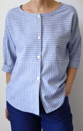 Foto zu Schnittmuster Bluse Vanda_B von B-Patterns