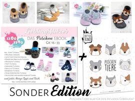 Foto zu Schnittmuster Puschen Lieblingsflitzer !Sonder Edition! von kiOo kiOo