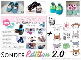 Foto zu Schnittmuster Puschen Lieblingsflitzer !Sonder Edition 2.0! von kiOo kiOo