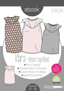 Foto zu Schnittmuster Volant-Top/Kleid Karla von ki-ba-doo