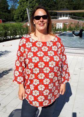 Foto zu Schnittmuster Shirtbluse Nellie XL von Miou Miou