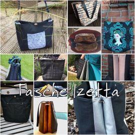 Foto zu Schnittmuster Tasche Izetta & Izetta BIG von JaSEWmade - Handmade by Scaryle