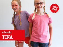 Produktfoto zu Kombi Ebook FRAU TINA & TINA  Basicshirts mit kurzen Ärmeln von Anja // STUDIO SCHNITTREIF