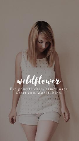 Foto zu Schnittmuster Damenshirt Wildflower von Naturfaden
