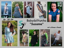 Foto zu Schnittmuster Babydoll Tunika Susanne von Sillyjay