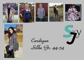 Foto zu Schnittmuster Cardigan Silke 44-54 von Sillyjay
