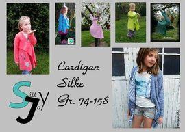 Foto zu Schnittmuster Cardigan Silke 74-158 von Sillyjay