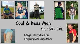 Foto zu Schnittmuster Cool and Kess Men 158-XXXL von Sillyjay