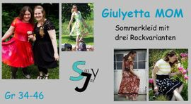 Foto zu Schnittmuster Giulyetta Mom 34-46 von Sillyjay