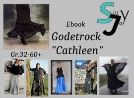 Foto zu Schnittmuster Godetrock Cathleen 32-60+ von Sillyjay