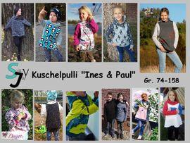 Foto zu Schnittmuster Kuschelpulli Ines & Paul von Sillyjay