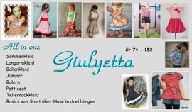 Foto zu Schnittmuster Giulyetta 74-152 von Sillyjay
