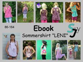 Foto zu Schnittmuster Sommershirt Leni 86-152 von Sillyjay