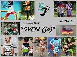 Foto zu Schnittmuster Unisex-Shirt Sven(ja) 74-158 von Sillyjay