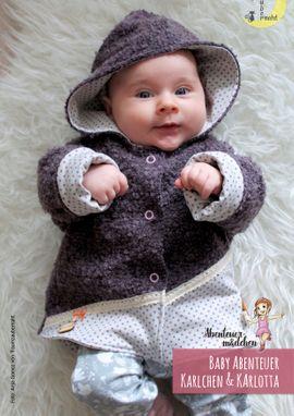 Foto zu Schnittmuster Baby-Abenteuer-Jacke Karlchen & Karlotta von Abenteuermädchen