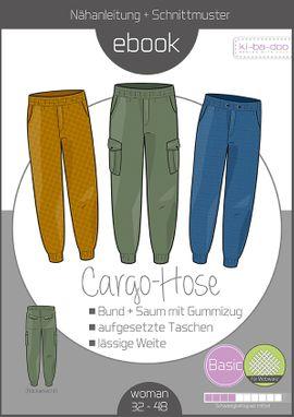 Foto zu Schnittmuster Cargo-Hose Damen von ki-ba-doo