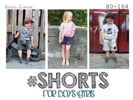 Foto zu Schnittmuster #Shorts - für Jungen und Mädchen von rosarosa