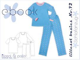 Foto zu Schnittmuster Lillesol basics No. 72 Schlafanzug von Lillesol & Pelle
